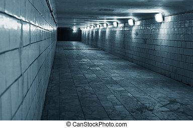 Tunel ve městě