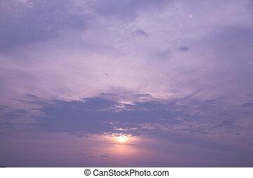 Twilight Cloudscape