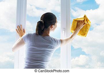 Umýt okna