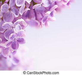 Umělá lilační květina