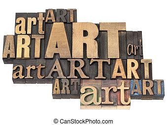 umění, abstraktní, dřevo, vzkaz, litera