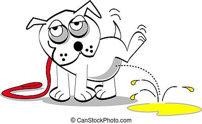 umění, pes, skřipec