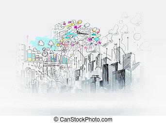 Urbanská scéna