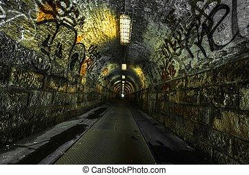 Urbanský podzemní tunel