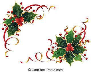 Vánoční holly