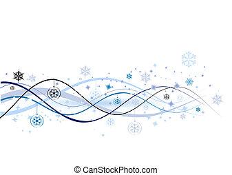 Vánoční prostředí, vektor pro váš návrh
