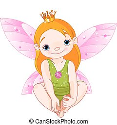 víla, mladý princess
