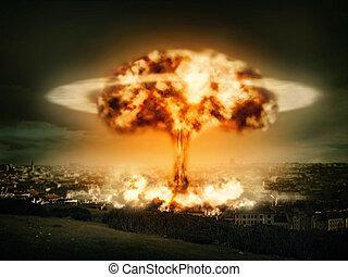 Výbuch jaderné bomby