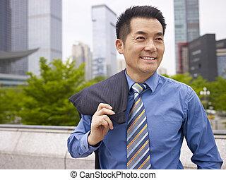 výkonný, asijský povolání