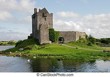 věž, dunguaire, irsko