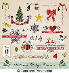 Věrné vánoční prvky