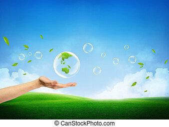V souvislosti s novou zelenou zemí