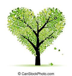 Valentýn, láska, list z srdcí