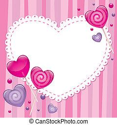 Valentýnská karta