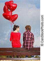 Valentýnský pár