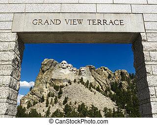Vchod Mount Rushmore.