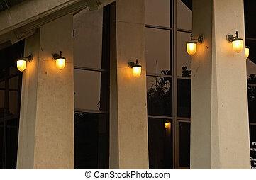 Večerní světla
