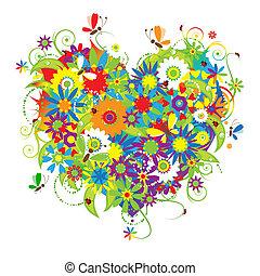 Ve tvaru srdce, láska