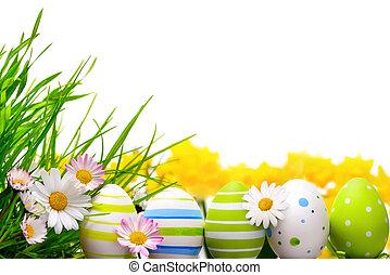 vejce, velikonoční, uspořádání