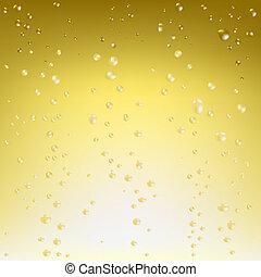vektor, šampaňské, grafické pozadí