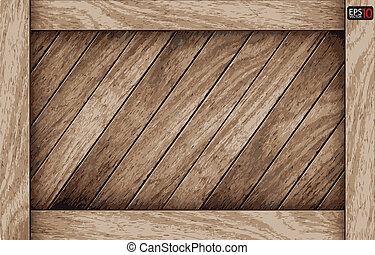 Vektor dřevěný prkýnko
