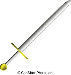 vektor, meč