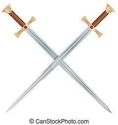 vektor, meči