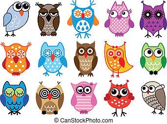 Vektor Owls