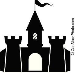 vektor, pevnost, ikona