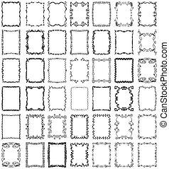 Vektorové rámy a sbíjecí kolekce