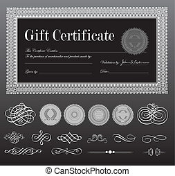 Vektorový certifikát nastaven