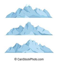Velká hora, vektorová ilustrace
