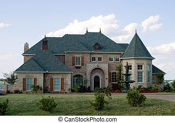 Velký dům na jezeře