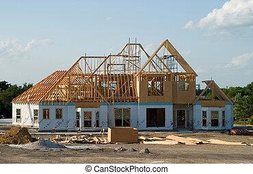 Velký dům pod konstrukcí