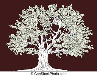Velký stromový obraz