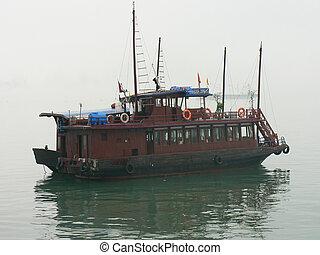 vietnam., člun