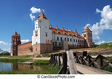 View do zámku