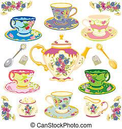Viktoriánský čaj