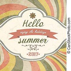 vinobraní, íhaný background, léto