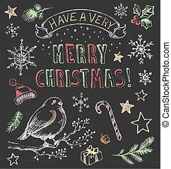 vinobraní, dát, vánoce, tabule
