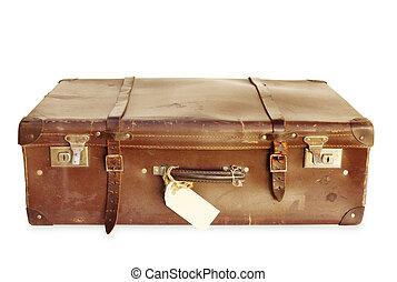 vinobraní, kufr