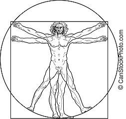 Vitruvianský muž