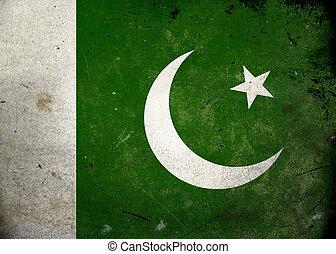 Vlajková vlajka Pakistán