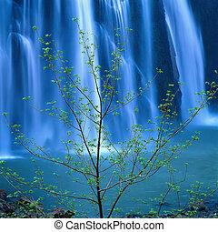 Vodní vodopád