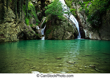 Vodní vodopády