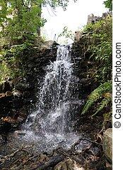 vodopád, řeka