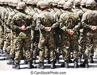 Vojáci
