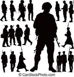 Vojenské siluety