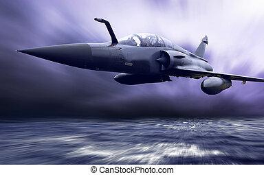Vojenský letectvo na rychlost