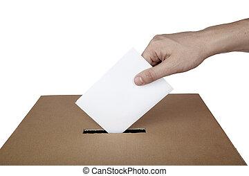 Volba hlasování o volebních volbách